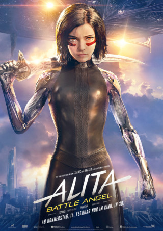 Bild: Alita: Battle Angel 3D IMAX